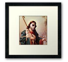 Based God Framed Print