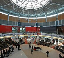 Qantas Terminal 2, Sydney Australia (interior) by buildings