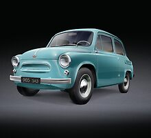 ZAZ 965 1960 by Jūratė Rutkauskaitė
