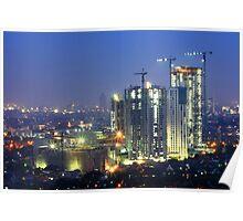 Kota Kasablanka (under construction, at dusk) Poster