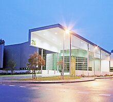 NATSEM | Ann Harding Conference Centre, University of Canberra by buildings
