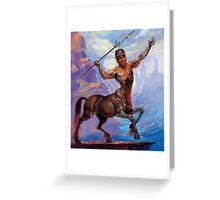 Based Centaur Greeting Card