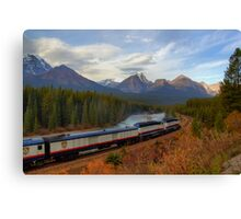 Rocky Mountaineer - Morant's Curve Canvas Print