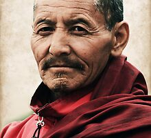 Buddhist Monk by RajeevKashyap