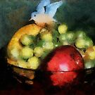 Fruit of Life Painted by LeftHandPrints