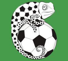 Soccer  Chameleon  by Vectorland