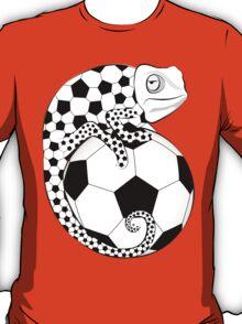 Soccer  Chameleon  T-Shirt