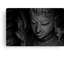The Digpaal - Guard of Direction - B&W Canvas Print
