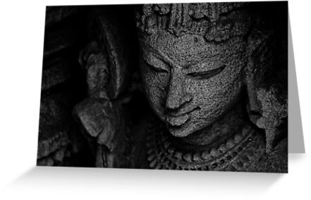 The Digpaal - Guard of Direction - B&W by Biren Brahmbhatt