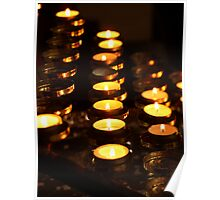 Prayer Candles Poster