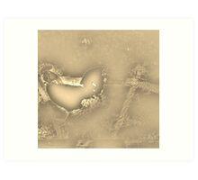 Golden Nesting Days Art Print