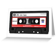 80s Mix Tape iPhone 6 Case Greeting Card