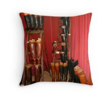 Hermes Boots - The Living Horse Museum, Chantilly, France Throw Pillow