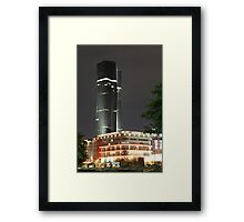 Bakrie Tower (by night) Framed Print