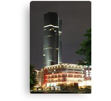 Bakrie Tower (by night) Canvas Print