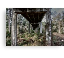 under the overpass Canvas Print