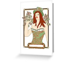Éire Babe in the Woods Greeting Card