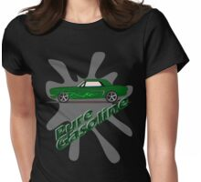 Gasoline Womens Fitted T-Shirt