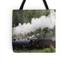 Whoo Hooo ---- #2816 Steam  Engine To Canmore Tote Bag