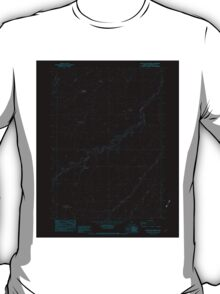 USGS Topo Map Oregon Starvation Spring 281627 1982 24000 Inverted T-Shirt