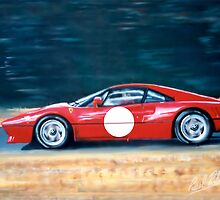 Ferrari 288 GTO fast cruiser. by PAUL57