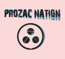 PROZAC NATION One Piece - Short Sleeve