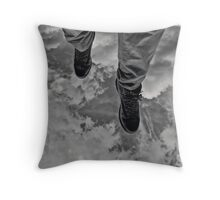 After walking on water, the tests got harder... Throw Pillow