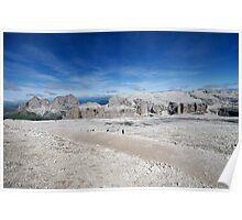 Lunar Landscapes on Sass Pordoi Poster
