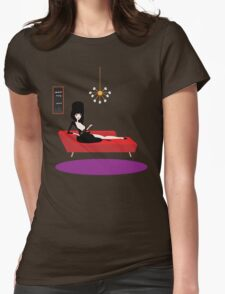 The Mistress of the Dark Womens Fitted T-Shirt