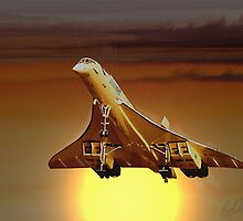 Concorde Sunset by PAUL57