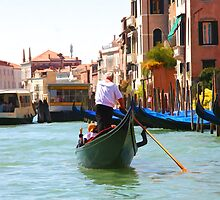 Sightseeing By Gondola  by daphsam