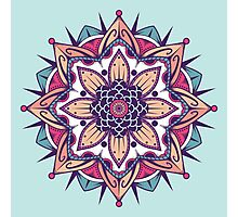 Mandala Photographic Print