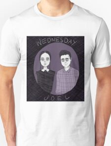 Adult Wednesday and Joel T-Shirt