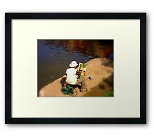 A Touch Of Art  Framed Print