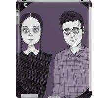 Adult Wednesday and Joel iPad Case/Skin