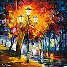 MEDITATION - LEONID AFREMOV by Leonid  Afremov