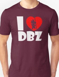 I Love DBZ  Fun  Super Saiyajin Piccolo Vegeta Dragonball Son Goku T-Shirt
