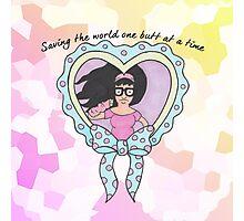 Saving the world!  Photographic Print