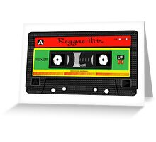 Reggae Hits Tape iPhone Case Greeting Card