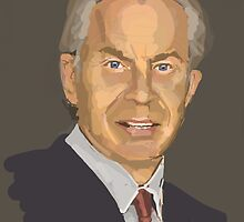 Tony Blair by Nigel Silcock