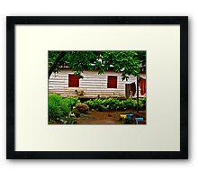 Cameroon House Framed Print