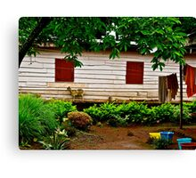 Cameroon House Canvas Print