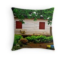 Cameroon House Throw Pillow