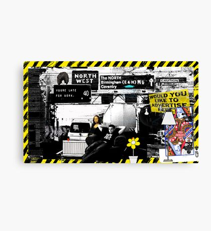 Chris of the M6 Canvas Print