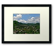 Limbe View from Above Framed Print