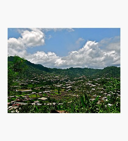Limbe View from Above Photographic Print