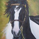 Appleby horse by Sharon Herbert