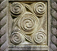 Celtic Swirls - Stone Carving      by Orla Cahill Photography
