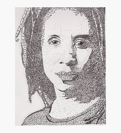 Lorraine - A portrait of Lorraine James, Canadian Actress Photographic Print