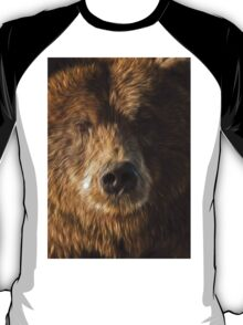 brown bear abstract T-Shirt